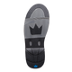 Brunswick Phantom Mens Bowling Shoes Black/Royal Carbon Fiber push off