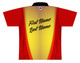 Brunswick Bowling Jersey by Logo Infusion - 0524BR - Back of Jersey with Sample Text