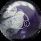 Columbia 300 White Dot Black/Purple/Silver Bowling Ball