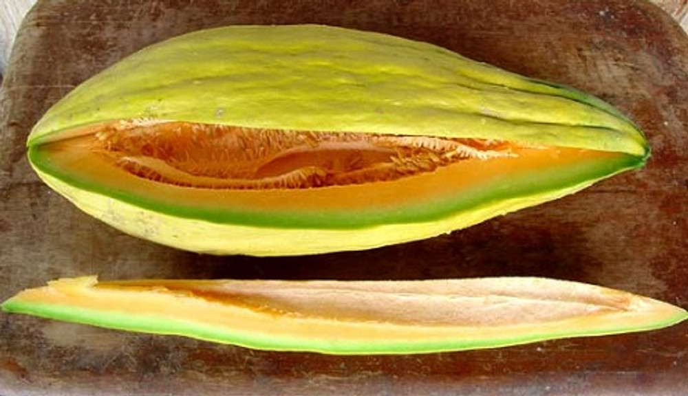 Banana Melon - 20 Seeds - Heirloom