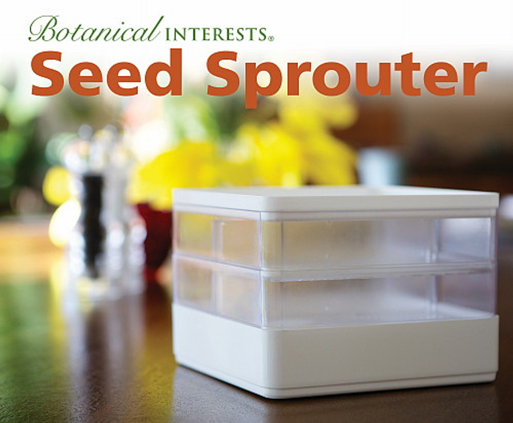 Botanical Interests Seed Sprouter - Enjoy Healthy/Nutritious Sprouts Year-Round