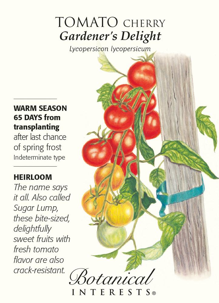 Gardeners Delight Cherry Tomato Seeds - .15 grams