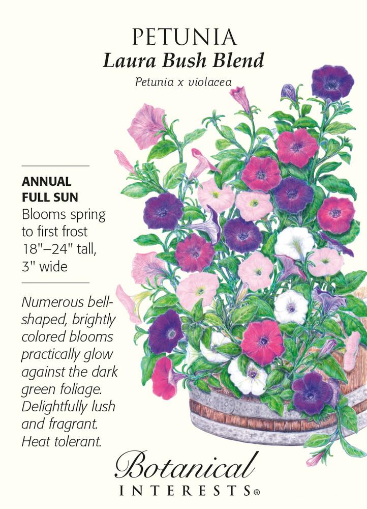 Larua Bush Blend Petunia Seeds - 50 mg