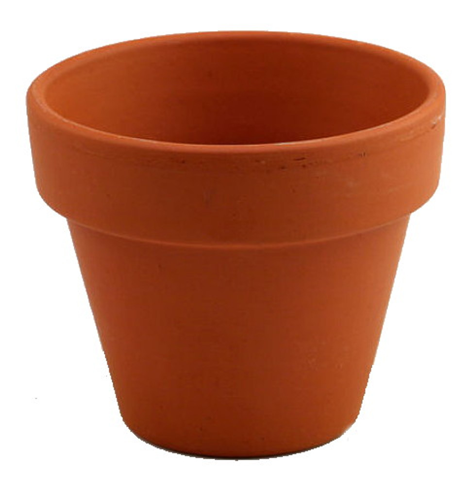 """5 - 6"""" Clay Pots - Great for Plants and Crafts"""