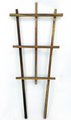 "Wood Trellis - Indoors or Out - 18"" - Tapered Style"