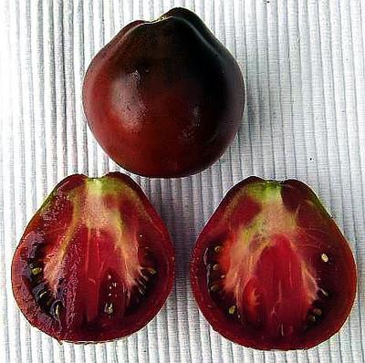 Japanese Black Trifele (Russian Truffel) Tomato 20 Seed