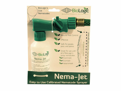 Nematode Sprayer - Nema-Jet -Easy to Use- Use with Biologic Easy Spray Nematodes