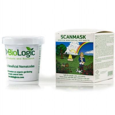 Beneficial Nematodes-Dr. Pye's Scanmask-25 Million- LiveKills 230 Different Bugs