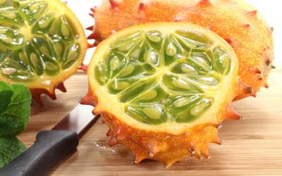 African Kiwano Jelly Melon 10 Seeds - Cucumis - Veggie