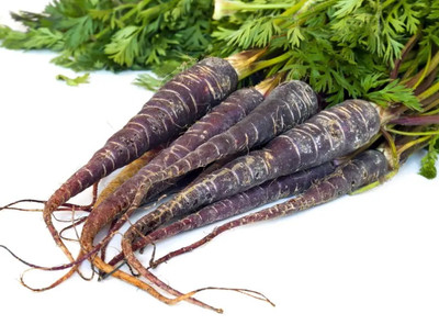 Black Knight Carrot 100 Seeds - First Near Black Carrot