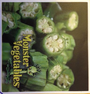 Monster Okra - 10 Seeds