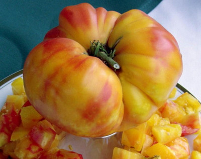 Big Rainbow Tomato 50 Seeds - Heirloom