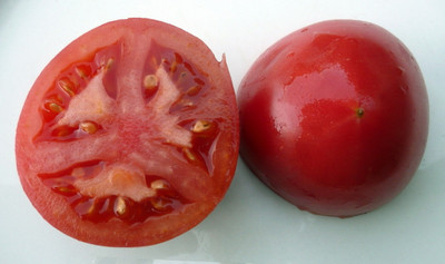 Bradley Tomato - 20 Seeds - Dark Pink Fruits