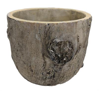 """Pinewood Tall Ceramic Planter - 6"""" x 5"""""""
