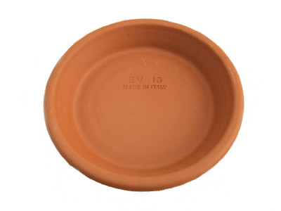 """5 - 6""""/4.75"""" Clay Saucers -Water Resistant- For Plants, Crafts, Fairy Gardens"""