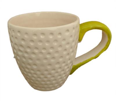 """Golf Ceramic Sports Mug Planter - 13 Ounce - 4"""" x 3.5"""""""