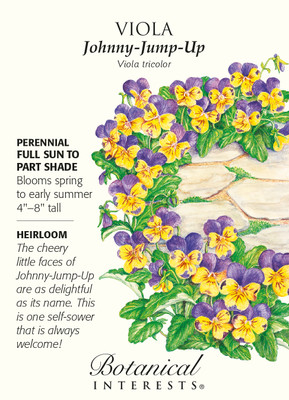 Johnny-Jump-Up Viola Seeds - 250 mg