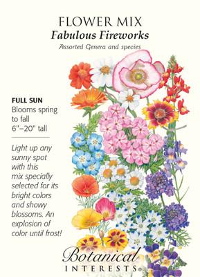 Fabulous Fireworks Annual Flower Seeds - 2 grams