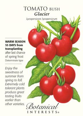 Glacier Bush Tomato - 30 Seeds - Botanical Interests