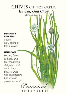 Garlic Chives Seeds - 600 mg - Perennial Herb