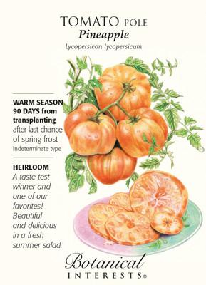 Pineapple Pole Tomato - 30 Seeds - Botanical Interests