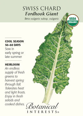 Fordhook Giant Swiss Chard Seeds - 2 grams - Organic