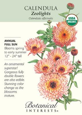 Zeolights Calendula Seeds - 450 mg