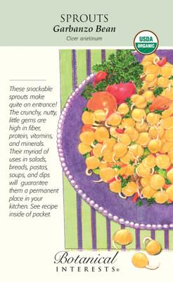Organic Garbanzo Bean Sprouts - 60 grams