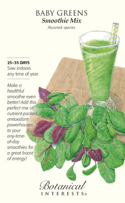 Smoothie Mix Baby Greens Seeds - 15 grams