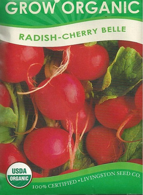 Grow Organic - Cherry Belle Radish Seeds - 6 grams