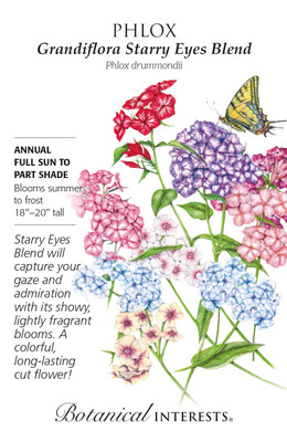 Grandiflora Starry Eyes Blend Phlox- 200 Mg