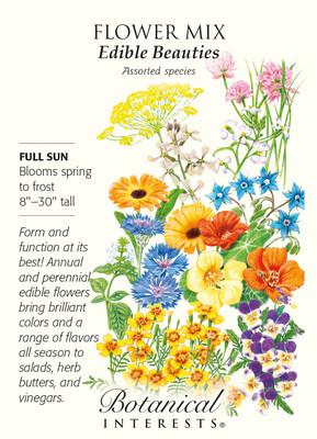 Edible Beauties Flower Mix Seeds - 3 grams