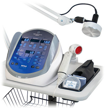New Hill HF54 Hands-Free Ultrasound Therapy Unit with Interferential Muscle Stim and Premod Current