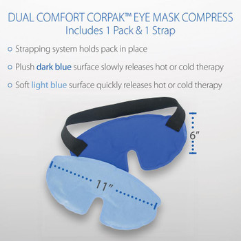 Dual Comfort CorPak Eye Mask Compress