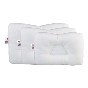 New Tri-Core Cervical Support Pillow, Mid Size, 15 X 22