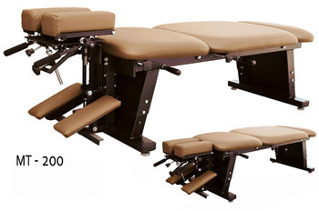 New MT Tables - MT 200 - INCLUDES CERVICAL, THORACIC, AND PELVIC DROPS