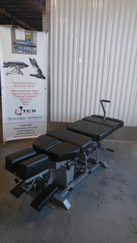 Omni Flexion elevation chiropractic table