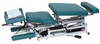 New Lloyd 402 Elevation Chiropractic Table with All Drops Green