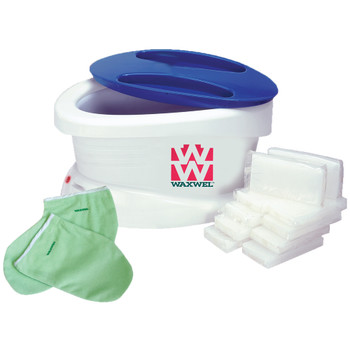 WAXWEL PARAFFIN BATH WITH 6LBS UNSCENTED WAX