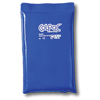 """BLUE VINYL COLPAC COLD PACK, HALF SIZE, 7.5 X 11"""""""