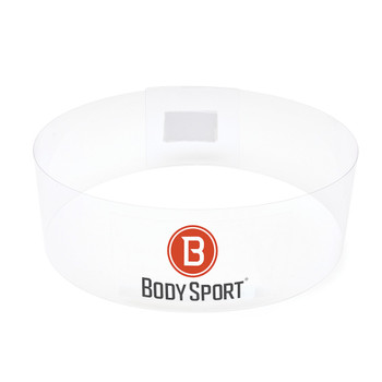 BODY SPORT(R) FITNESS BALL STACKERS, SET OF THREE Clear Ball Stackers