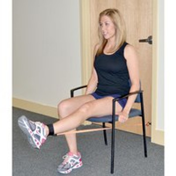 Chair Seated DURA-BAND 4 BAND COMPLETE PATIENT REHAB SYSTEM