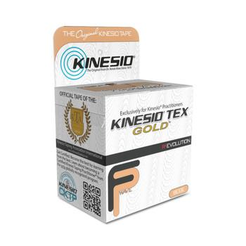 """KINESIO TAPE TEX GOLD FP, 2"""" X 16.4', NEUTRAL"""
