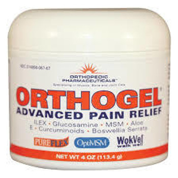 ORTHOGEL COLD THERAPY 4OZ JAR