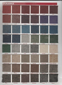 Choate Color Chart for Knee Chest