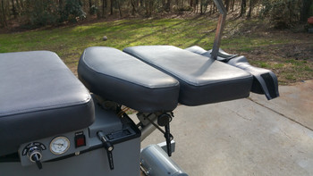 Used Reconditioned Hill Air Flexion Distraction Table rear section