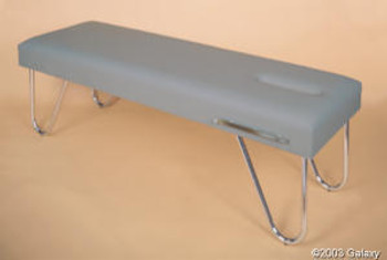 New Galaxy Therapy Table with Chrome Legs
