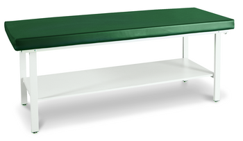 Winco 850 stationary treatment table with shelf