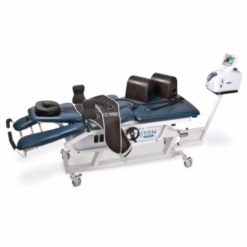 Triton DTS systems includes the Triton DTS Traction Unit, and our exclusive QuikWrap™ belting system. The inherent flexibility of the Triton DTS Basic System allows clinicians to treat a wide variety of back conditions.