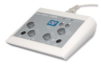 The Mettler 208A is a two-channel digital low volt stimulation device. It is designed specifically for the treatment of pain management. The microprocessor controlled unit allows for a smooth comfortable waveform.